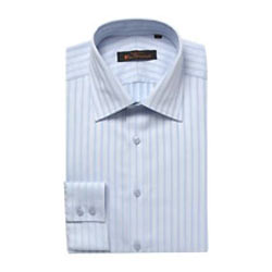 Light Striped Full Shirt from Men from 4Forty