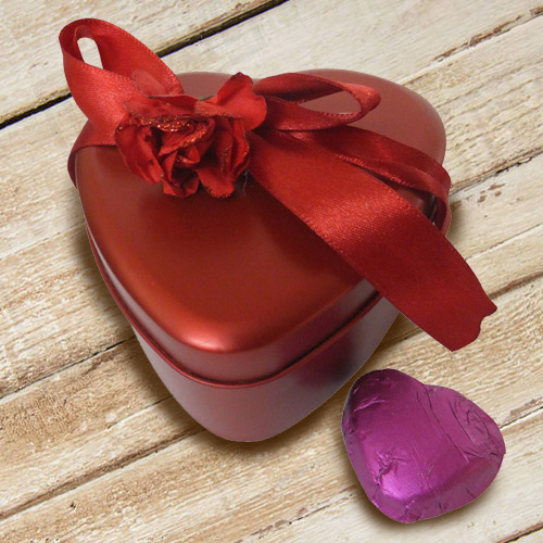 Sweet Indulgence Heart Shaped Chocolate Box