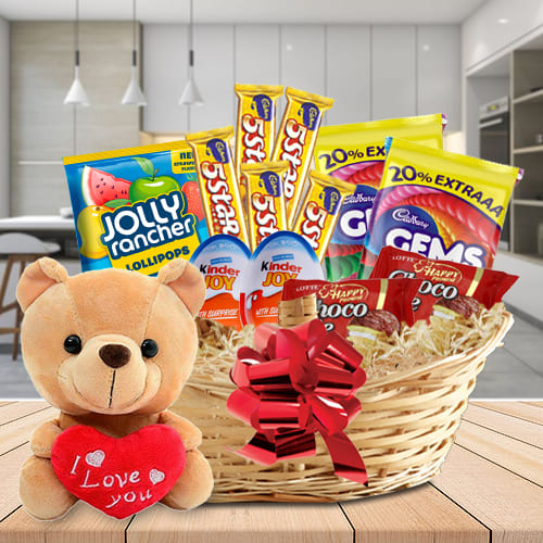 Amazing Chocolates Hamper for Kids