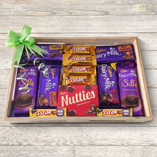 Pleasurable Cadburys Chocolate Gift Tray