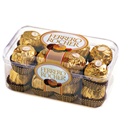 Ferrero Rocher chocolate box