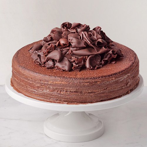Awe-Inspiring 2.2 Lbs Chocolate Truffle Cake from 3/4 Star Bakery