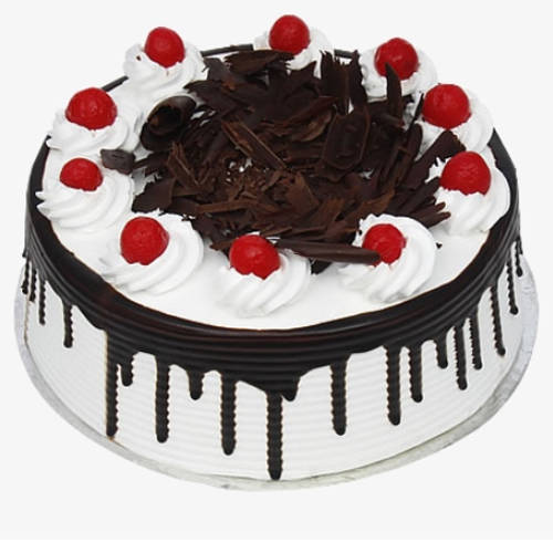 Yummy Eggless Black Forest Cake