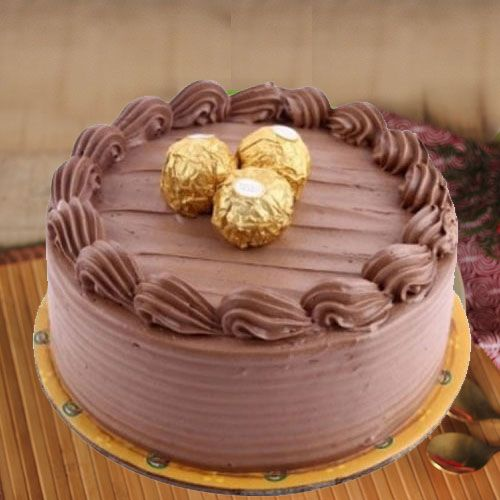 Extraordinary Ferrero Rocher Chocolate Cake