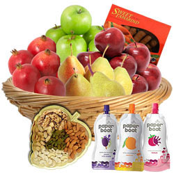 Amazing Gift Basket of Fruits N More