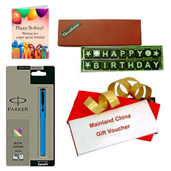 Fabulous Mainland China Gift Voucher worth Rs.1000 Gift Combo
