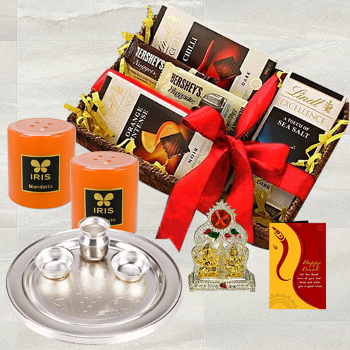 Marvelous Chocolates N Assortments Gift Hamper for Diwali