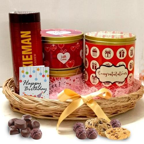 Exclusive Cookies Hamper for Birthday