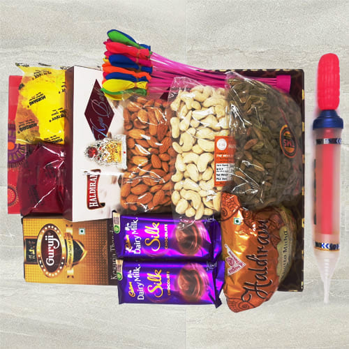 Delicious All-in-One Holi Gift Hamper
