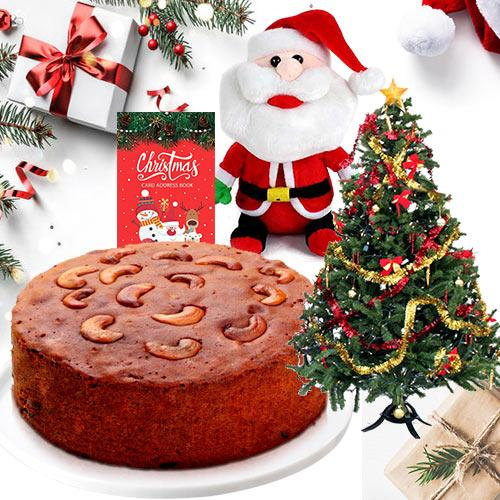 Delicious Heart Touching Christmas Gift Hamper