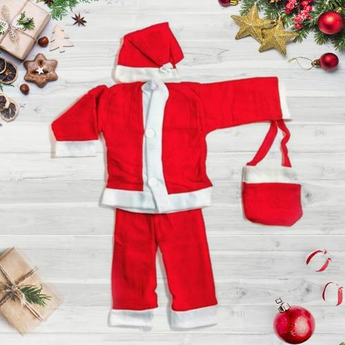X-mas Special Santa's Red Suit for Kids