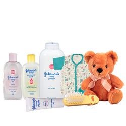 Exclusive Johnson Baby Care Gift Combo