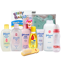 Wonderful Johnson Baby Care Gift Set