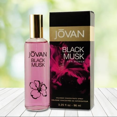 Exclusive Jovan Black Musk Cologne for Women