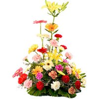 Unique Arrangement of Beautiful Mixed Flower with Precious Love