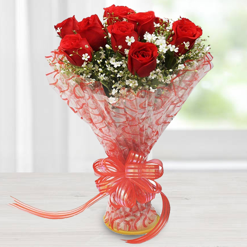 Pure Indulgence Love Red Roses Bouquet