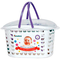 Marvelous Baby Care Gift Basket from Himalaya