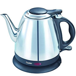 Stylish 1200W Prestige Electric Kettle 1 Ltr.