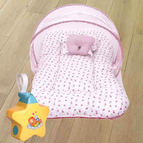 Baby Sleep Projector, Baby Sleeping Bag N Mosquito Net Bed
