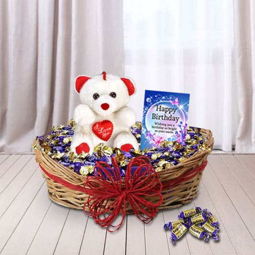 Exclusive Birthday Gift Basket