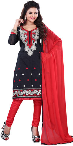 Mind-Blowing Selection of Cotton Printed Black Salwar