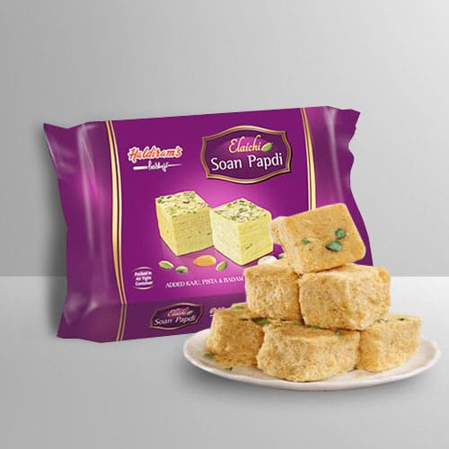 Awesome Soan Papdi from Haldirams