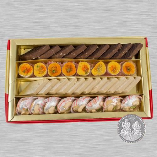 Exclusive Mixed Sweets Box from Bhikaram