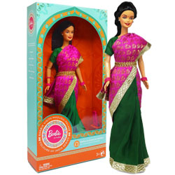 Barbie Doll in India (New Visits Madurai Palace)