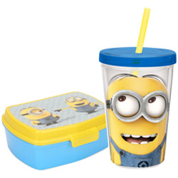 Impressive Kids Delight Minions Tiffin Set
