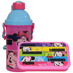 Impressive Kids Delight Minnie Tiffin Set