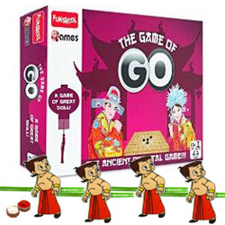 Arresting Funskool Game of Go with 4 Chota Bheem Rakhi and Roli Tilak Chawal