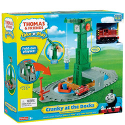 Exhilarating Fisher-Price Thomas the Train Take-n-Play Set